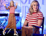 Emily Blunt In Miu Miu - Disney's Mary Poppins Returns Press Conference