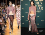 Emily Ratajkowski In Paco Rabanne - GQ Australia Men Of The Year Awards 2018