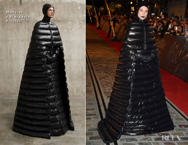 Ezra Miller In Moncler x Pierpaolo Piccioli - 'Fantastic Beasts: The Crimes Of Grindelwald' World Premiere