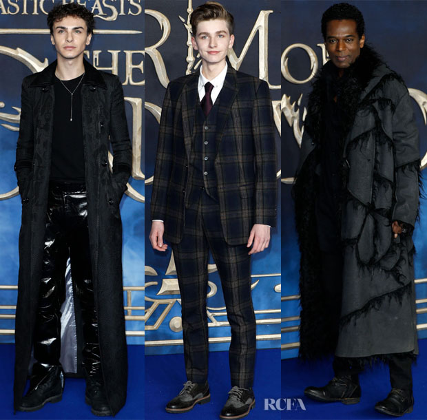 'Fantastic Beasts: The Crimes Of Grindelwald' London Premiere Menswear Roundup