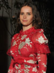Felicity Jones In Erdem - BAFTA Los Angeles Reception