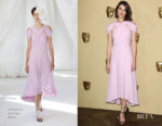Gemma Arterton In Delpozo - BAFTA Breakthrough Brits Reception