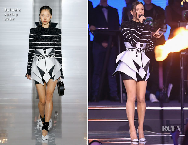 Hailee Steinfeld's Eight MTV EMAs Wardrobe Changes