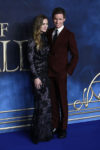 Hannah Redmayne In Alexander McQueen - 'Fantastic Beasts The Crimes Of Grindelwald' London Premiere