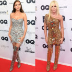 Irina Shayk & Donatella Versace In Atelier Versace - 2018 GQ Men of the Year Awards