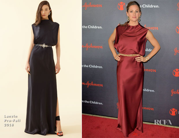 Jennifer Garner In Lanvin - 6th Annual Save The Children Illumination Gala