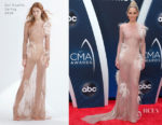 Jennifer Nettles In Uel Camilo - 2018 CMA Awards