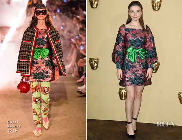 Jessica Barden In Gucci - BAFTA Breakthrough Brits Reception