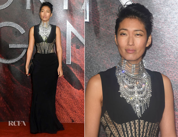 Jihae In Alexander McQueen - 'Mortal Engines' World Premiere