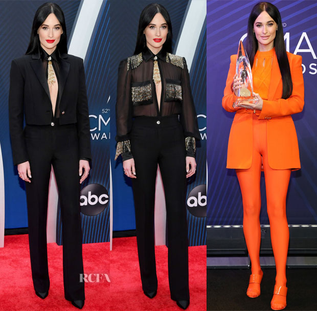 Kacey Musgraves In Versace - 2018 CMA Awards