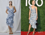 Karolina Kurkova In Johanna Ortiz - Haute Living's Haute 100 10th Anniversary Party
