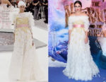 Keira Knightley In Chanel Haute Couture - 'The Nutcracker and the Four Realms ' London Premiere