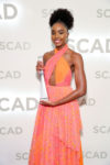 KiKi Layne In Carolina Herrera - 'If Beale Street Could Talk' SCAD Savannah Film Festival Screening