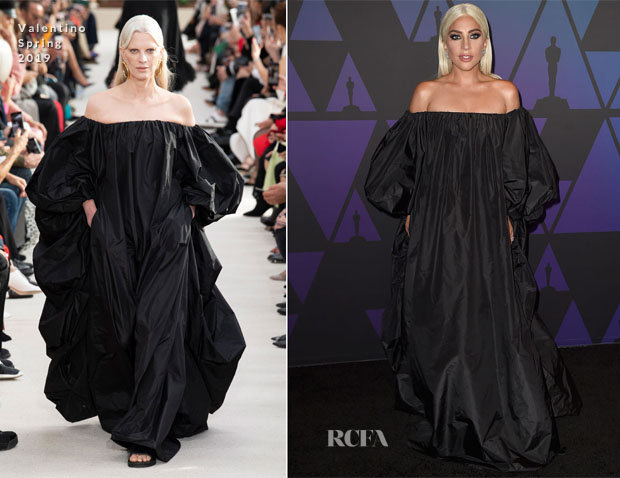 Lady Gaga In Valentino - 2018 Governors Awards