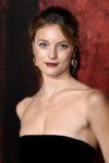 Leila George In Oscar de la Renta - 'Mortal Engines' World Premiere