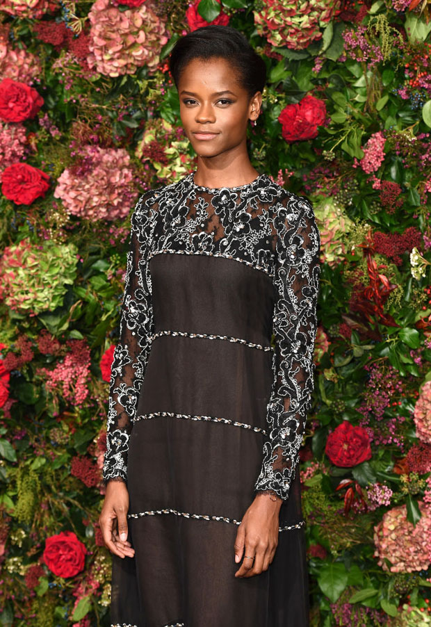 Letitia Wright In Chanel - 2018 Evening Standard Theatre Awards