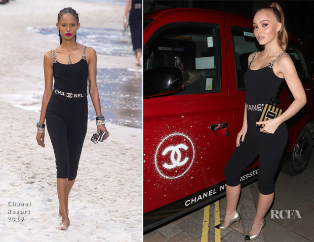 Lily-Rose Depp In Chanel - Chanel N°5 L'Eau Red Limited Edition Launch Party