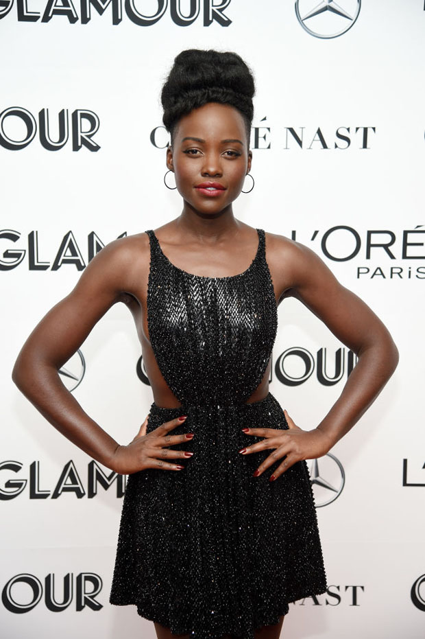 Lupita Nyong'o In Celine - 2018 Glamour Women of the Year Awards