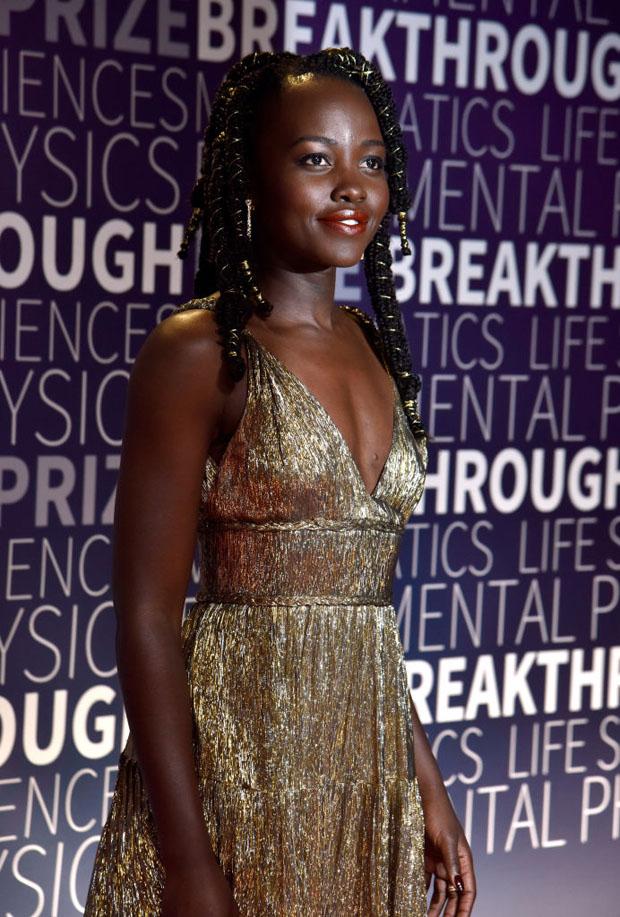 Lupita Nyong'o In Oscar de la Renta - 2019 Breakthrough Prize Ceremony