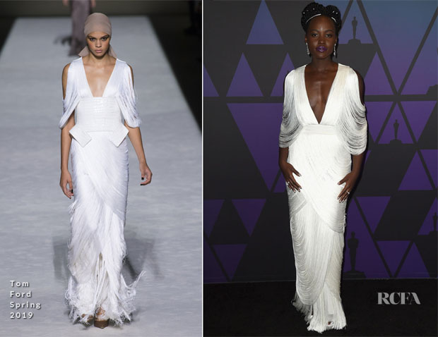 Lupita Nyong'o In Tom Ford - 2018 Governors Awards