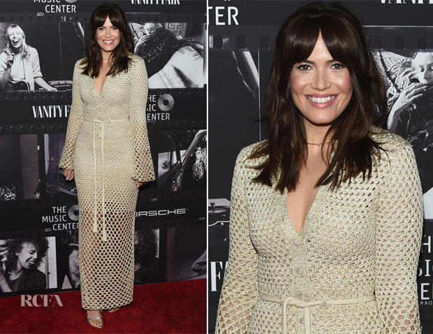 Mandy Moore In Proenza Schouler - JONI 75: A Birthday Celebration