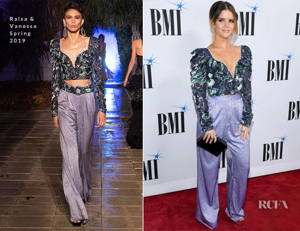 Maren Morris In Raisa & Vanessa - 66th Annual BMI Country Awards
