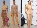 Margot Robbie In Nanushka - Nissan Futures Event