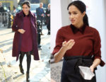 Meghan, Duchess of Sussex In Club Monaco - The Hubb Community Kitchen Visit