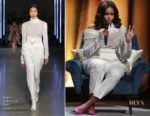 Michelle Obama In Sally LaPointe - Michelle Obama Launches Arena Book