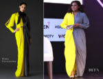 Mindy Kaling In Greta Constantine - 2018 Glamour Women Of The Year Summit: Women Rise