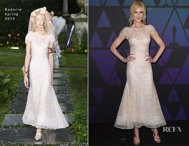 Nicole Kidman In Rodarte - 2018 Governors Awards