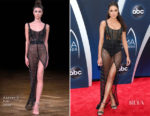 Olivia Culpo In Aadnevik - 2018 CMA Awards
