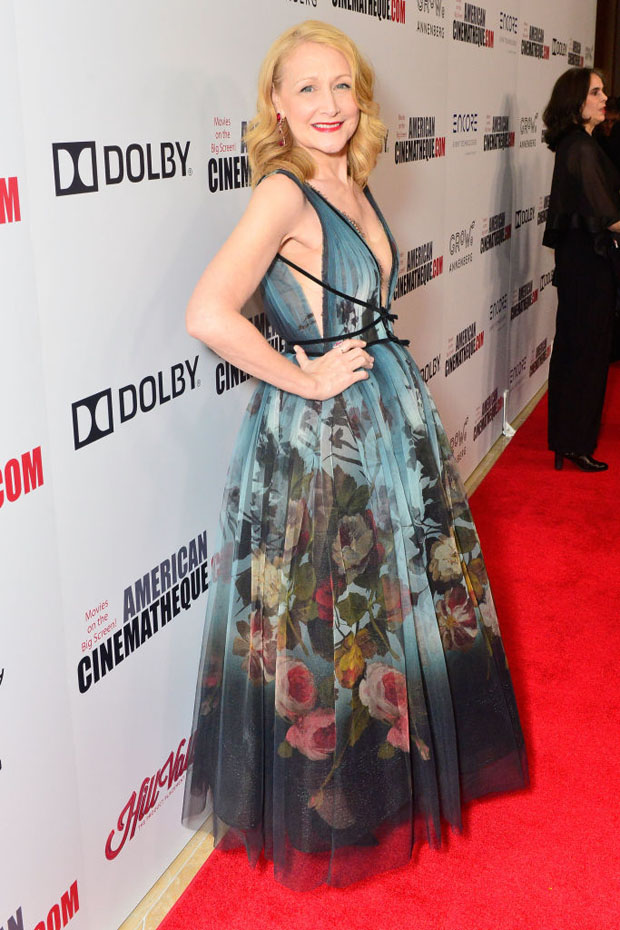 Patricia Clarkson In Marchesa - 32nd American Cinematheque Award Presentation Honoring Bradley Cooper