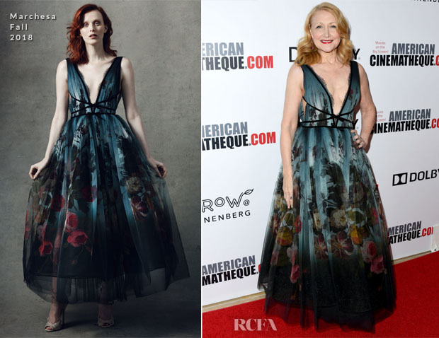 Patricia Clarkson In Marchesa - 32nd American Cinematheque Award Presentation Honoring Bradley Cooper