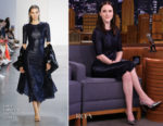 Rachel Brosnahan In Sally LaPointe - The Tonight Show Starring Jimmy Fallon