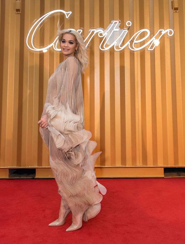 Rita Ora In Iris van Herpen Haute Couture - Cartier Precious Garage Party