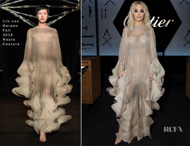 Rita Ora In Iris van Herpen Haute Couture - Cartier Precious Garage Party