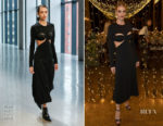 Rosie Huntington-Whiteley In Dion Lee - bareMinerals Power Of Good Wellness Retreat