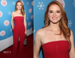 Sarah Drew In Halston - Lifetime Christmas Movies 2018 Event