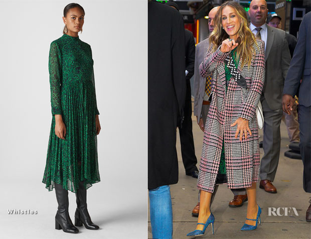 Sarah Jessica Parker In Whistles & Baukjen - Out In New York