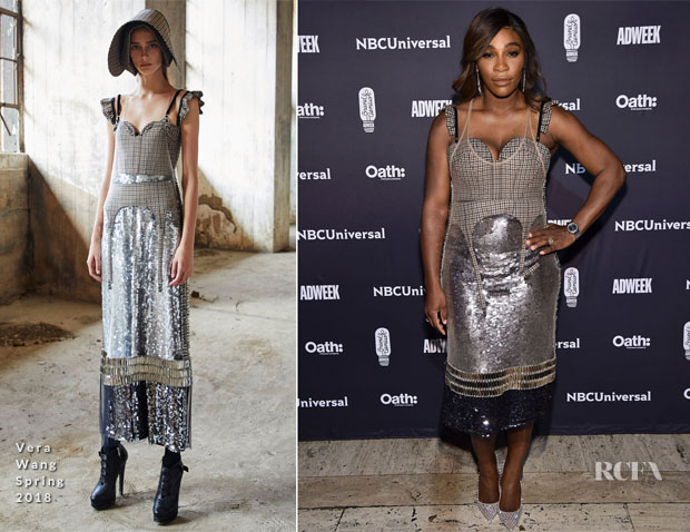Serena Williams In Vera Wang - 2018 Brand Genius Awards