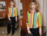 Suki Waterhouse In ALEXACHUNG & Christian Dada - Alexa Chung And Friends Celebrate Thanksgiving