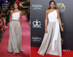 Taraji P. Henson In Brandon Maxwell - 22nd Annual Hollywood Film Awards