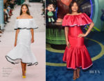Taraji P. Henson In Carolina Herrera - 'Ralph Breaks The Internet' World Premiere