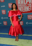 Taraji P. Henson In Carolina Herrera - 'Ralph Breaks The Internet' World Premiere