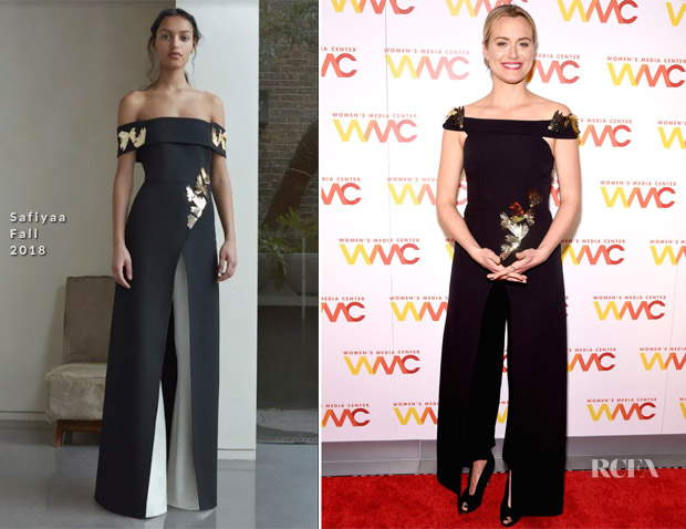 Taylor Schilling In Safiyaa - 2018 Women's Media Awards