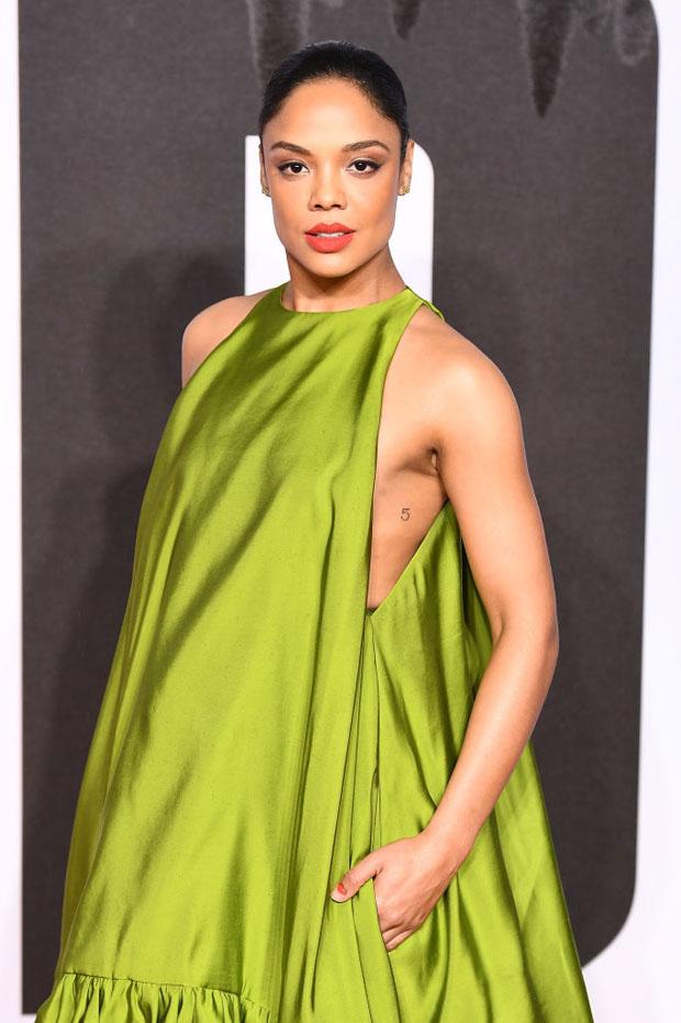 Tessa Thompson In Valentino Haute Couture - 'Creed II' London Premiere