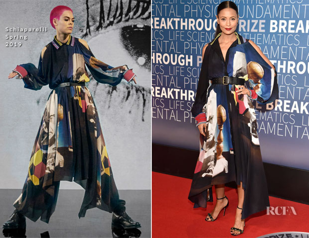 Thandie Newton In Schiaparelli - 2019 Breakthrough Prize Ceremony