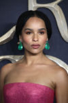 Zoe Kravitz In Armani Prive - 'Fantastic Beasts The Crimes Of Grindelwald' London Premiere