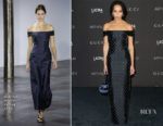 Zoe Kravitz In Gabriela Hearst- 2018 LACMA Art + Film Gala